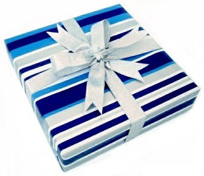 magazine gift wrapping