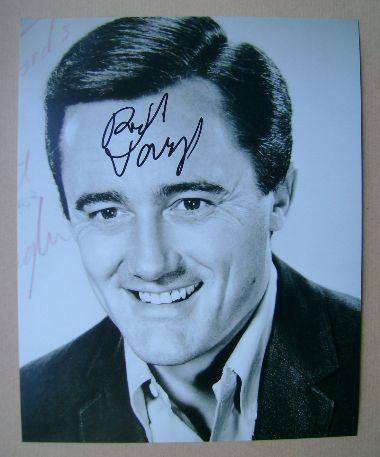 Robert Vaughn autograph