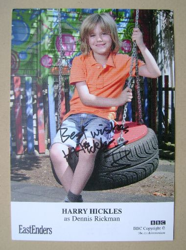 Harry Hickles autograph