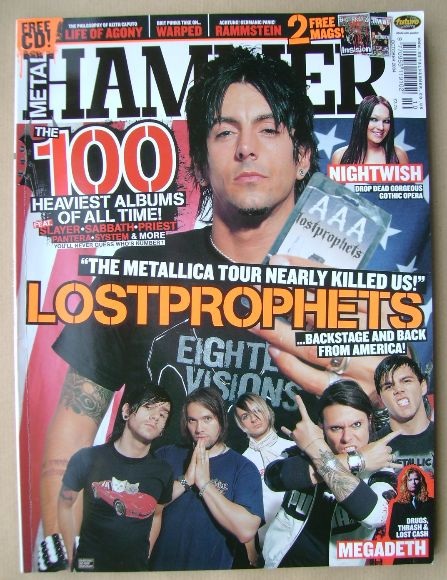 <!--2004-10-->Metal Hammer magazine - October 2004