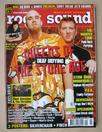 <!--2002-09-->Rock Sound magazine - September 2002