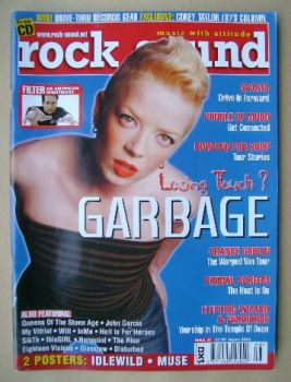 Rock Sound magazine - Shirley Manson cover (August 2002)