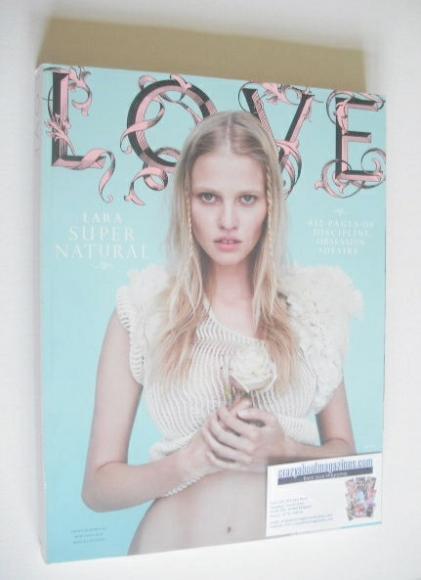 <!--2011-09-->Love magazine - Issue 6 - Autumn/Winter 2011 - Lara Stone cov