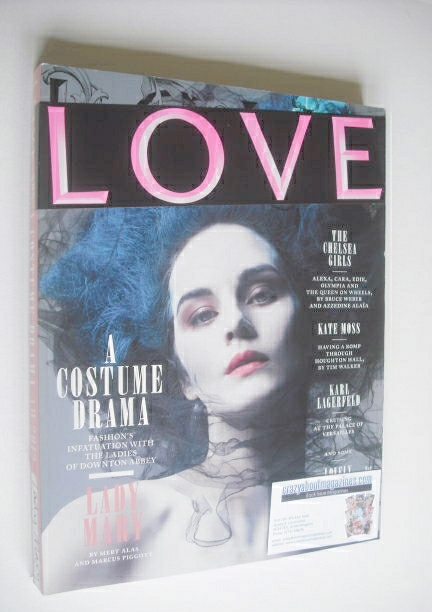 <!--2012-09-->Love magazine - Issue 8 - Autumn/Winter 2012 - Lady Mary cove