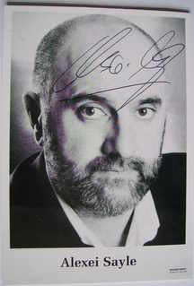 Alexei Sayle autograph - signed photo