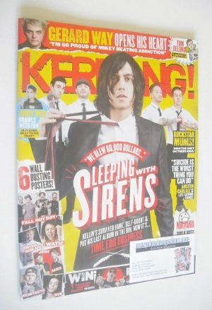 <!--2015-03-14-->Kerrang magazine - Sleeping With Sirens cover (14 March 20
