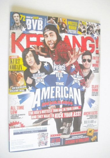 <!--2015-03-28-->Kerrang magazine - The American Invasion cover (28 March 2