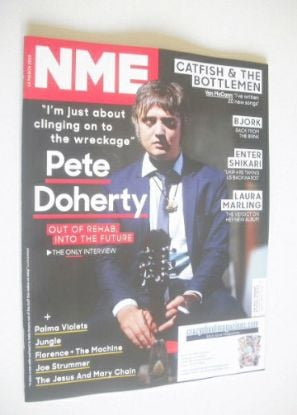 <!--2015-03-14-->NME magazine - Pete Doherty cover (14 March 2015)