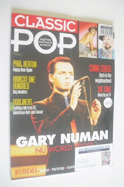 <!--2015-02-->Classic Pop magazine - Gary Numan cover (February/March 2015)