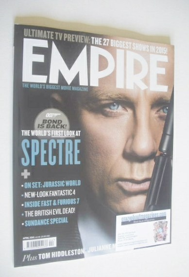 <!--2015-04-->Empire magazine - Daniel Craig cover (April 2015)