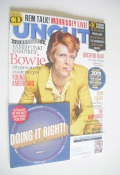 Uncut magazine - David Bowie cover (February 2015)