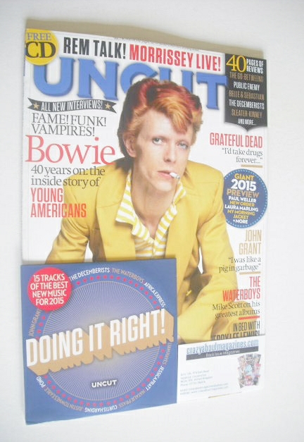 <!--2015-02-->Uncut magazine - David Bowie cover (February 2015)
