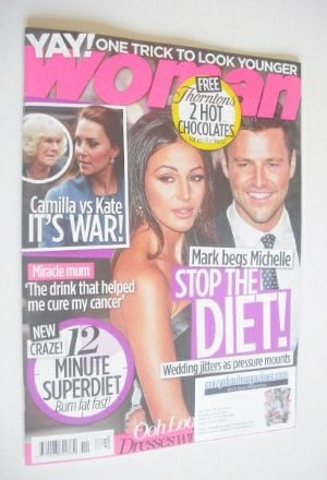 Woman magazine - Mark Wright and Michelle Keegan cover (9 March 2015)
