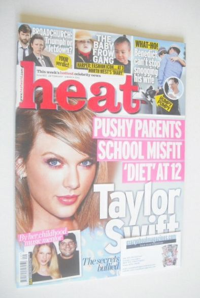 <!--2015-02-28-->Heat magazine - Taylor Swift cover (28 February - 6 March