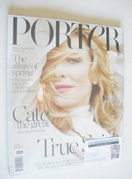 Porter magazine - Cate Blanchett cover (Winter Escape 2014)