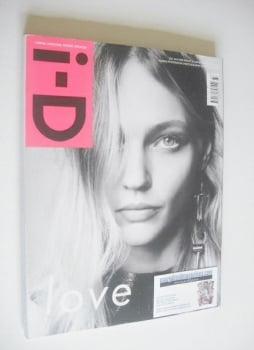 i-D magazine - Sasha Pivovarova cover (Fall 2014)