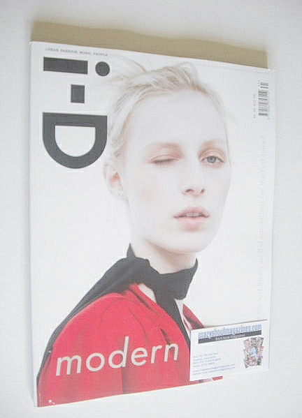 <!--2014-08-->i-D magazine - Julia Nobis cover (Summer 2014)