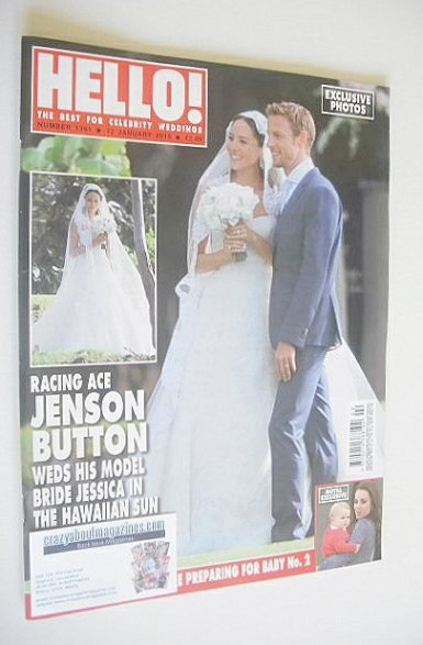 <!--2015-01-12-->Hello! magazine - Jenson Button and Jessica Michibata wedd