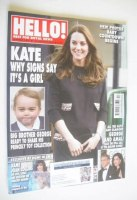 <!--2015-01-26-->Hello! magazine - The Duchess of Cambridge cover (26 January 2015 - Issue 1363)