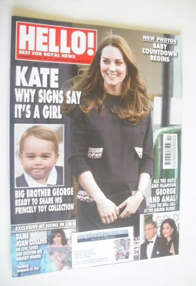 <!--2015-01-26-->Hello! magazine - The Duchess of Cambridge cover (26 Janua