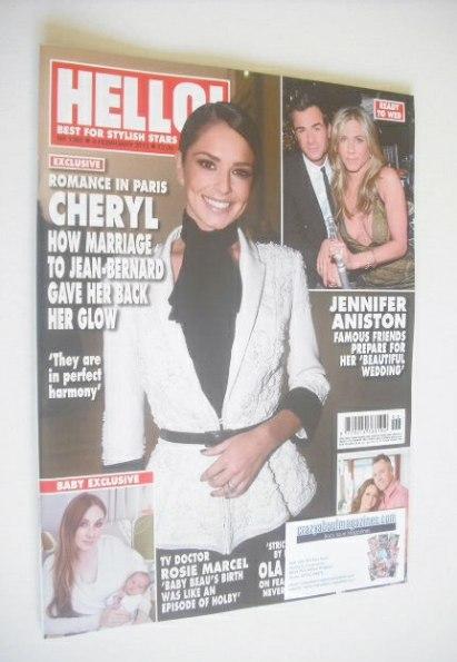 <!--2015-02-09-->Hello! magazine - Cheryl Fernandez-Versini cover (9 Februa