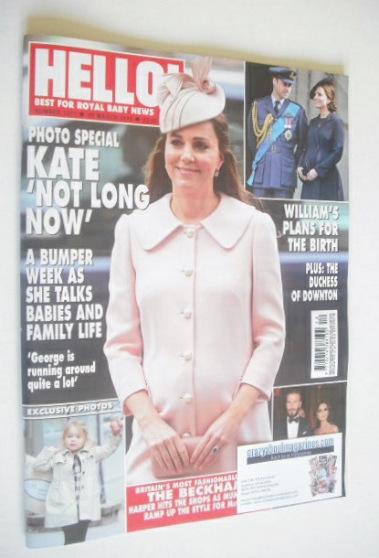 <!--2015-03-23-->Hello! magazine - The Duchess Of Cambridge cover (23 March