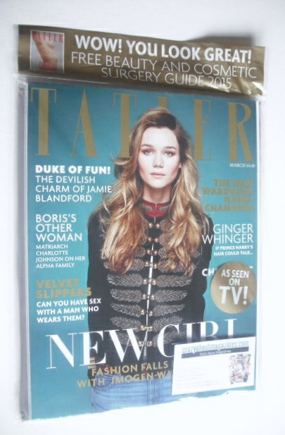 <!--2015-03-->Tatler magazine - March 2015 - Imogen Waterhouse cover