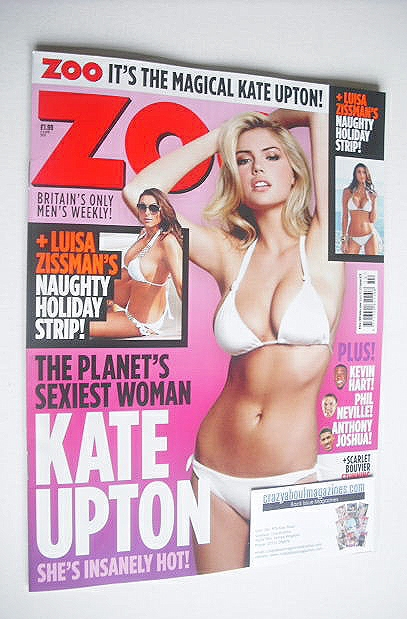 <!--2015-04-03-->Zoo magazine - Kate Upton cover (3-9 April 2015)