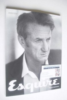 Esquire magazine - Sean Penn cover (March 2015 - Subscriber's Issue)