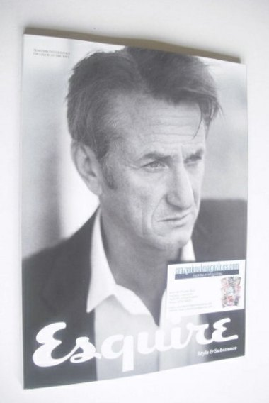 <!--2015-03-->Esquire magazine - Sean Penn cover (March 2015 - Subscriber's