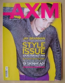 <!--2008-09-->AXM magazine - Jay Brannan cover (September 2008)