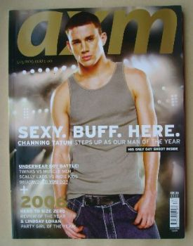 <!--2006-12-->AXM magazine - Channing Tatum cover (December 2006)