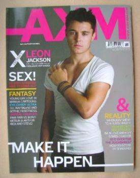 AXM magazine - Leon Jackson cover (November 2008)