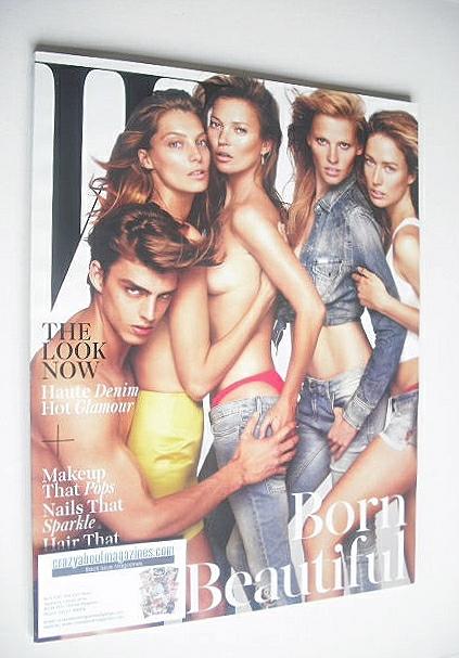 <!--2014-11-->W magazine - November 2014 - Born Beautiful cover
