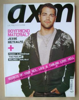 <!--2007-02-->AXM magazine - Jesse Metcalfe cover (February 2007)