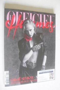L'Officiel Hommes (Paris) magazine - Chloe Sevigny cover (September-November 2014)
