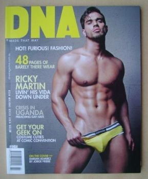 DNA magazine - Darian Alvarez cover (June 2013 - Issue 161)