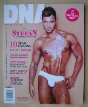 DNA magazine - Stefan James Brydon cover (August 2013 - Issue 163)