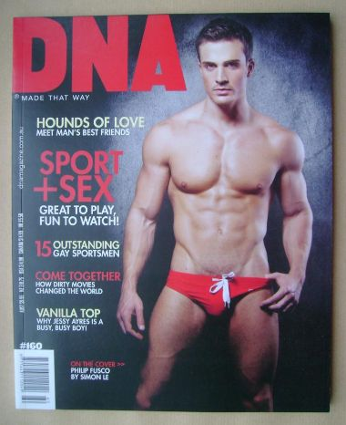 <!--0160-->DNA magazine - Philip Fusco cover (May 2013 - Issue 160)