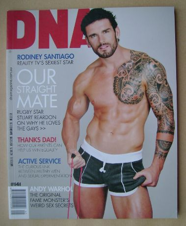 <!--0141-->DNA magazine - Stuart Reardon cover (October 2011 - Issue 141)
