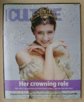 Culture magazine - Alina Cojocaru cover (21 December 2014)