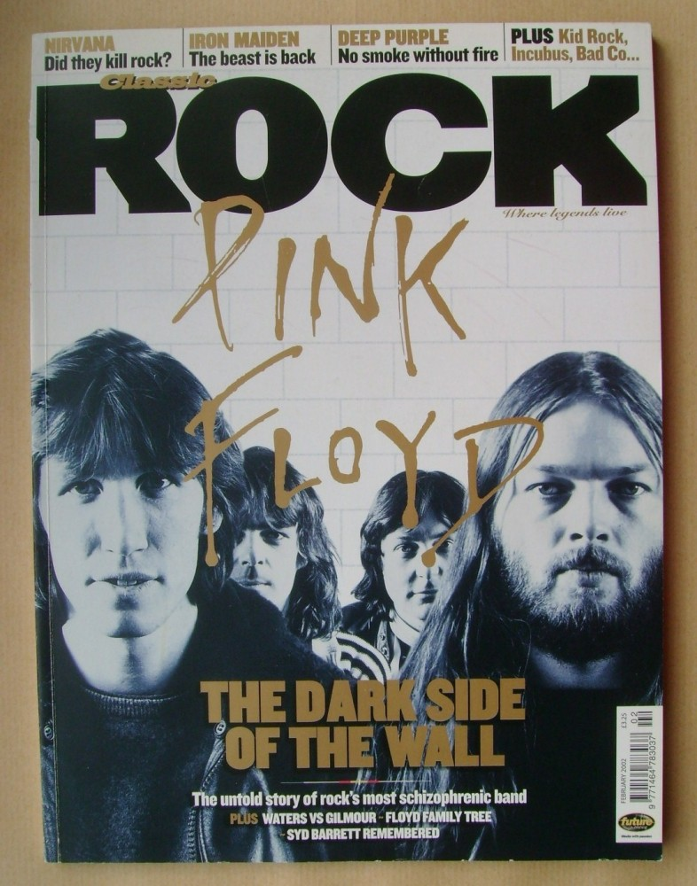 <!--2002-02-->Classic Rock magazine - February 2002 - Pink Floyd cover