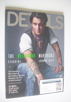 Details magazine - December 2014/January 2015 - Johnny Depp cover