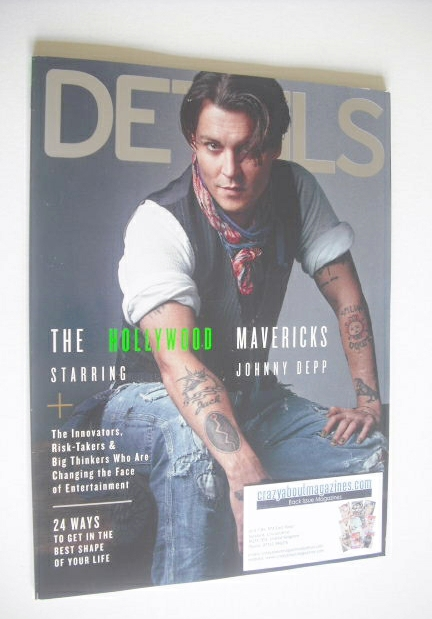 <!--2014-12-->Details magazine - December 2014/January 2015 - Johnny Depp c
