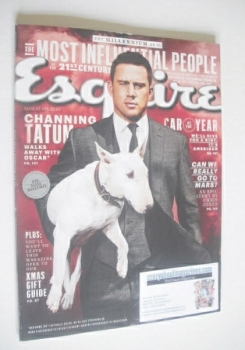 Esquire magazine - Channing Tatum cover (December 2014 - US Edition)