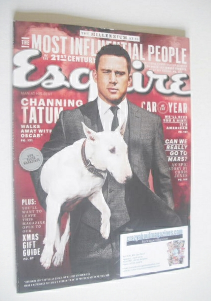 <!--2014-12-->Esquire magazine - Channing Tatum cover (December 2014 - US E
