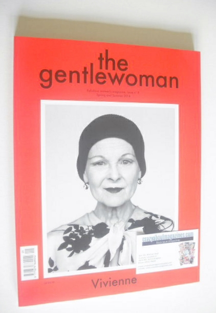 <!--2014-04-->The Gentlewoman magazine - Vovoemme Westwood cover (Spring/Su