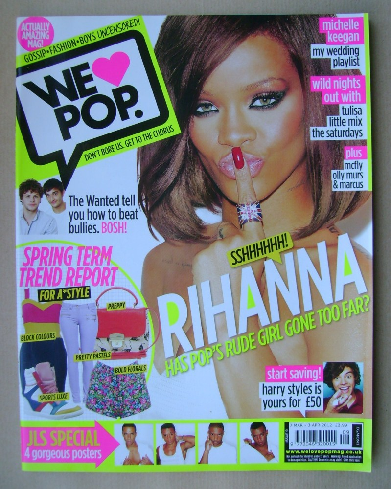 <!--2012-03-07-->We Love Pop magazine - Rihanna cover (7 March - 3 April 20