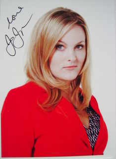 Jo Joyner autograph