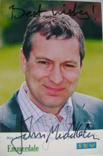 John Middleton autograph